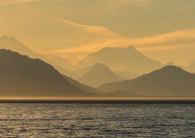 Alaskan Coastal sunset