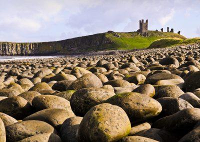 On The Rocks at Dunstanburgh Castle